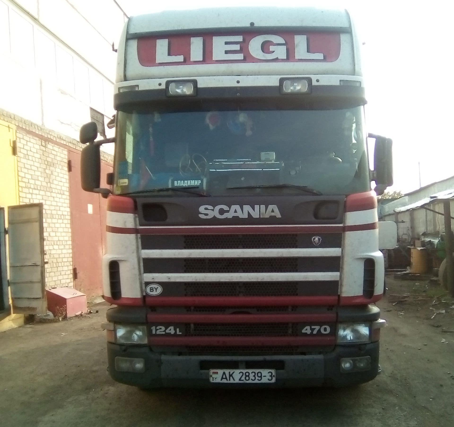 Ремонт кардана Scania, скания