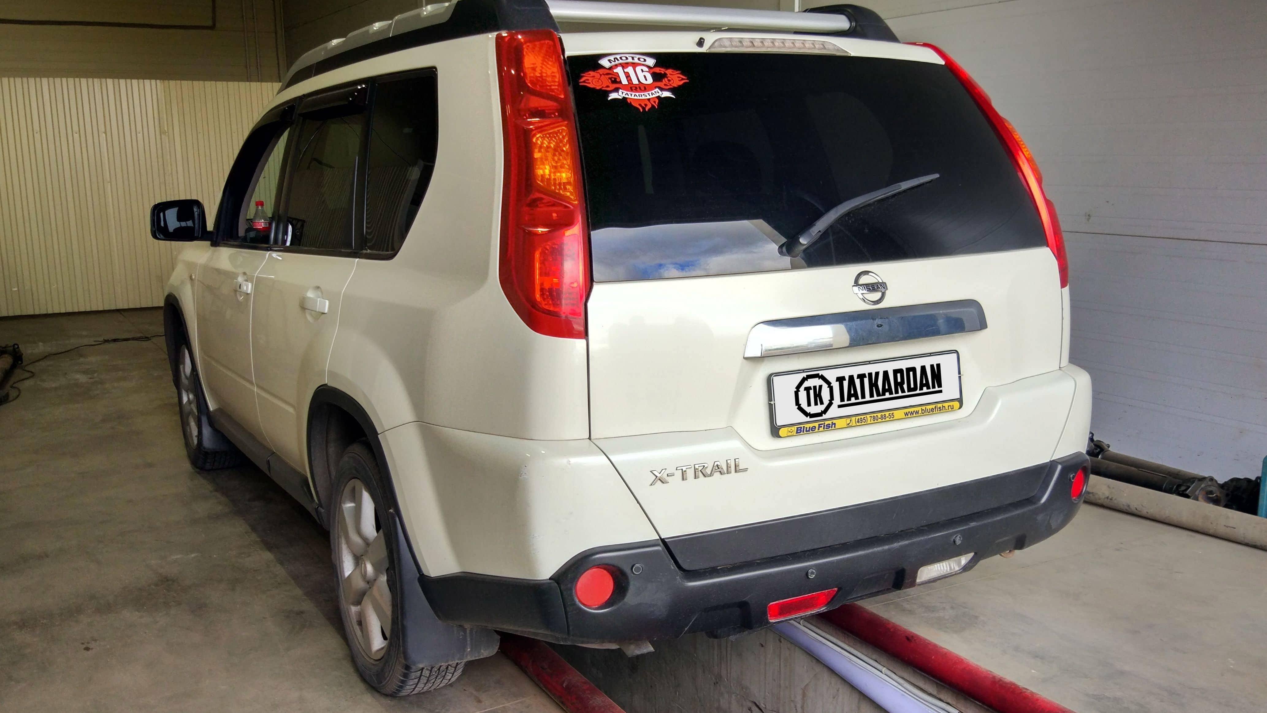 ремонт кардана Nissan X-Trail, ремонт кардана Ниссан Икс-Треил